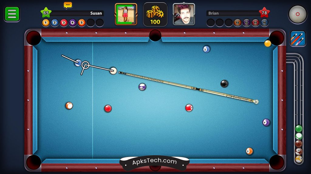 8 Ball Pool MOD APK [Unlimited Coins/Guideline Hack] [Latest Update] 3
