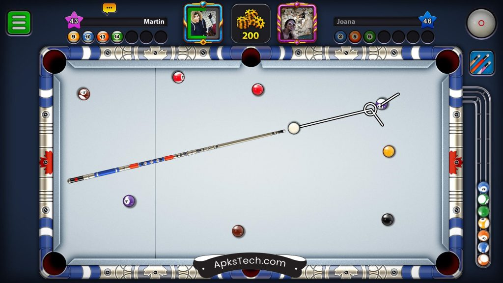 8 Ball Pool MOD APK [Unlimited Coins/Guideline Hack] [Latest Update] 1