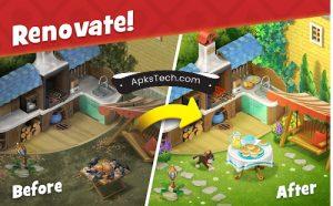 Gardenscapes MOD APK [Unlimited Coins] 2021 3