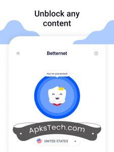 Betternet Premium MOD APK [Unlocked] 2021 8