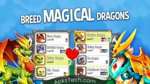 Dragon City MOD APK [Unlimited Gems] [Latest] 4