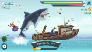 Hungry Shark Evolution MOD APK [Unlimited Coins] [Latest Update] 1