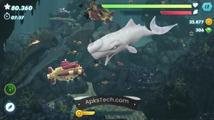 Hungry Shark Evolution MOD APK [Unlimited Coins] [Latest Update] 4
