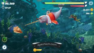 Hungry Shark Evolution MOD APK [Unlimited Coins] [Latest Update] 5