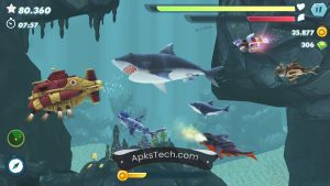 Hungry Shark Evolution MOD APK [Unlimited Coins] [Latest Update] 7