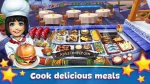 Cooking Fever MOD APK [Unlimited Gems] [Latest Update] 3
