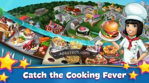 Cooking Fever MOD APK [Unlimited Gems] [Latest Update] 5